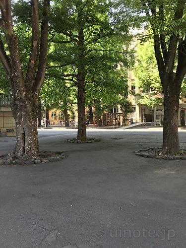 三田キャンパスの雰囲気
