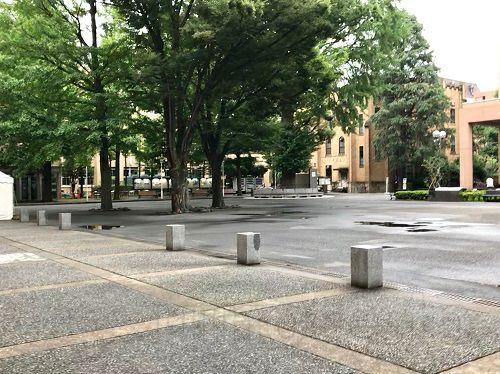 三田オープンカレッジ7回目の帰りの風景(三田キャンパス)